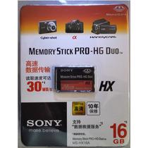 Cartão Sony Memory Stick Pro-hg Duo Hx 16gb. Psp E Cameras