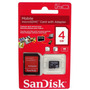 Cartão Memória Sandisk Micro Sd 4gb Lacrado Original Sdhc