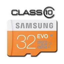 Cartão Memória Micro Sd 32gb Samsung Class10 Full Hd 48mb/s