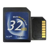 Cartão De Memória Mmc 32mb Multmediacard 7 Pinos Hexon