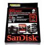 Cartão / Sdhc 16gb Sandisk Extreme 45mb/s Classe 10