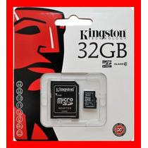 Micro Sd 32 Gb Kingston 100 % Original 32 Gb