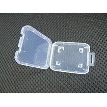 Kit 4 Case Cartão Memória Sdhc 16gb 32gb 64gb Porta Cartão