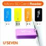 Leitor Gravador Cartão Memória Micro Sd 4 8 16 32 64 128 Gb