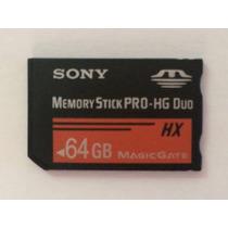 Cartão Memória Sony Pro-hg Duo Hx 64gb 64 Gb Psp Mais Rápido