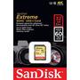 Cartão Memória Sdhc 32gb Sandisk Extreme Classe 10 Sd 60mb