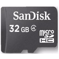 Cartão Memória Micro Sd 32gb Original,leitor Usb