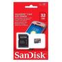 Cartão 32gb Sandisk Lacrado + Adaptador Sd Original