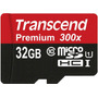 Micro Sd 32gb Micro Sdhc Class10 Uhs-1 Transcend 45mb