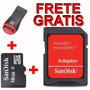 Oferta Cartão De Memória Micro Sd 16gb Sandisk+leitor Usb