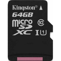 Cartao Memoria Kingston Micro Sdxc 64gb Sd Gopro Hero 4