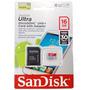 Memória Micro Sd16gb Sandisk Classe 10 Para Celular E Tablet