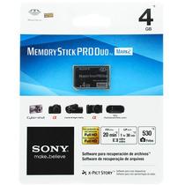 Cartão De Memoria Sony Mark2 4gb Pro Duo Full Hd Frete 10,00