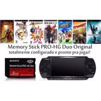 Cartão 95 Patchs Memória Sony Stick Pro Duo 8gb Psp Câmera