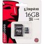 Cartão Memória Micro Sd 16gb Lacrado Original Kingston