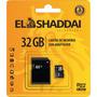 Cartão De Memória 32gb Micro Sd C/adaptador El Shaddai