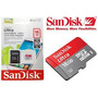 Cartão Micro Sd 16gb Sandisk Classe10 Ultra 48mb/s Original