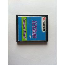 Cartão Compact Flash Cf 128mb Fugifilm
