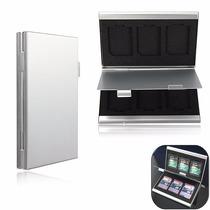 Case De Aluminio Porta Cartão Memoria Sd Sdhc Estojo - P19