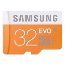 Cartão Micro Sd Sdhc Samsung Evo 32gb Classe10 48mb/s Me04