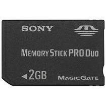 Cartão Sony Stick Memoria Sony Pro Duo 2gb