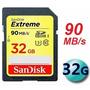 Cartão Sandisk Sdhc Extreme 60mb/s 32gb Classe10 Full Hd 3d