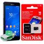 Cartão Memória Micro Sd 16gb Sony Xperia M2 Aqua Zq T2 Ultra