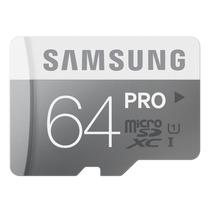 Cartão Samsung Micro Sdxc Pro 64gb 70mb/s Uhs-1 Sd Original