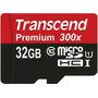 Cartão Micro Sdhc Transcend 32gb Premium Classe 10 300x