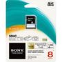 Cartão De Memória Sony Sd 8gb Sdhc Class 4