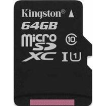 Cartao Memoria Kingston Micro Sdxc C10 64gb Celular Original