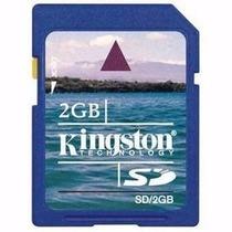 Cartão De Memoria Sd Kingston 2gb Camera Digital Lacrado