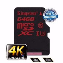 Cartao Memoria Kingston Micro Sdxc Classe10 90mb/s 64gb Me01