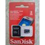 Cartão Memória Micro Sd 2gb Sandisk Moto G Samsung Nokia Lg