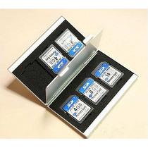 Case Sd Aluminio Porta Cartão De Memoria Sdhc Estojo