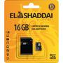Cartão De Memória 16gb Micro Sd C/adaptador El Shaddai