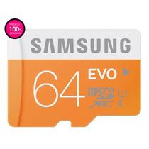 Cartão Samsung Micro Sdxc Evo 64gb Classe 10 48mb/s Sd Sdhc