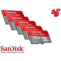 Cartão Micro Sd Sandisk Sdhc 32gb Ultra Classe10 30mb/s 200x