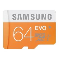 Cartão Samsung Micro Sdxc 64gb 48mb/s Sd Xperia Mini Galaxy