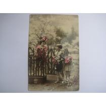 Foto Postal Antiga De Crianças 1922