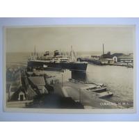 Foto Postal Curacao - Navio