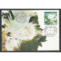 Max-59 Máximo Postal 1978 Meio Ambiente Parque Iguaçu Cachoe
