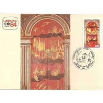 Ml-6570 Max. Postal Lubrapex Pinturas Chinesices 1984