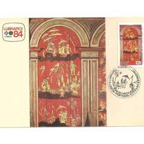 Ml-6569 Max. Postal Lubrapex Pinturas Chinesices 1984