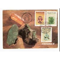 Lindo Máximo Postal Rhm Max-56 - Série Pedras - Vejam A Foto