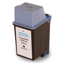 Cartucho Hp 20 Compatível C6614 38ml Preto Deskjet 610c 640c