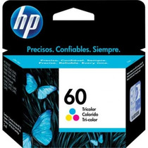 Cartucho Hp 60 Color Original F4480 C4680 F4280 F4440 D110a