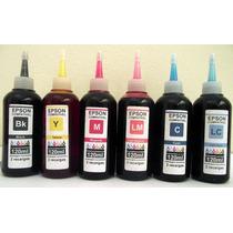 Kit De Tinta Para Impressora L800 Epson Compatível