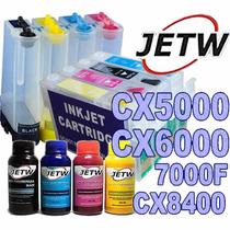 Bulk-ink Cx5000 Cx6000 7000f Cx8400 691nr T0691 + Tinta
