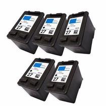 5 Cartuchos Hp 27 Impressora Deskjet 3520 3550 3650 C8727ab